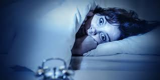 laying awake wide eyed